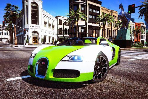 Bugatti Veyron handling professional (bugatti)