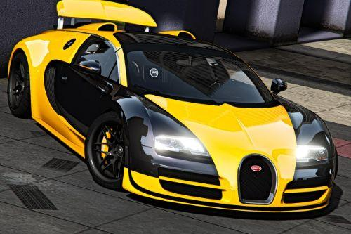 Bugatti Veyron Vitesse [Add-On | Auto-spoiler | Tuning | Wheels | Extras | Template]