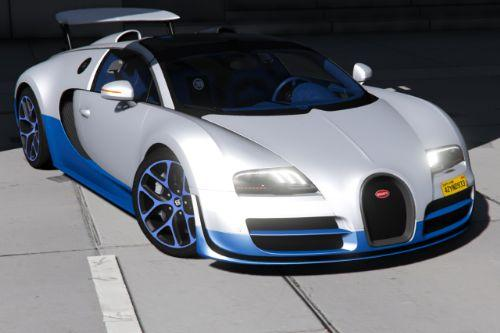 Bugatti Veyron Vitesse [Add-On | LODs | Auto-spoiler | Tuning | Wheels | Extras | Template]