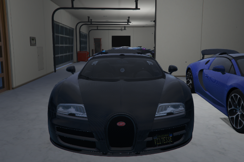 Bugatti Veyron Vitesse (Carbon Fiber Body)