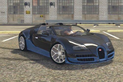 Bugatti Veyron Vitesse Handling