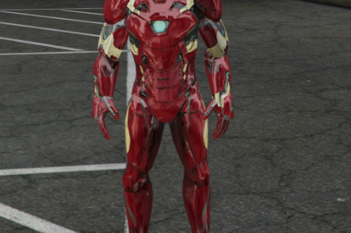 Bug-free INI file for Iron Man Mark 46 Armor