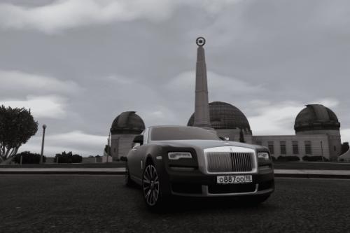BULKIN License plates for Rolls-Royce Ghost / EWB