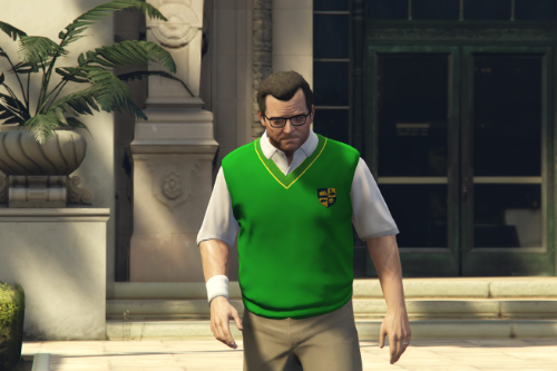 Bully SE: Nerd and Prep Jacket for Michael