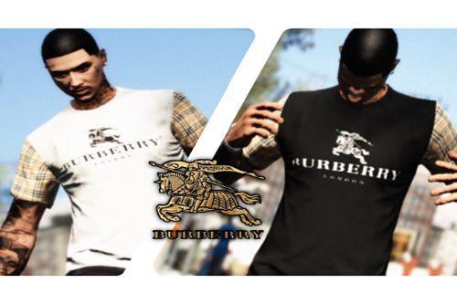 Burberry Designer Shirt MP Male