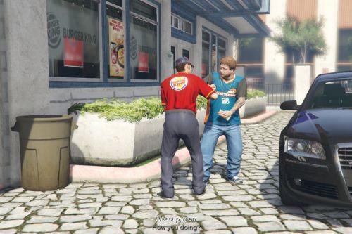 Burger King Drug Dealer retexture