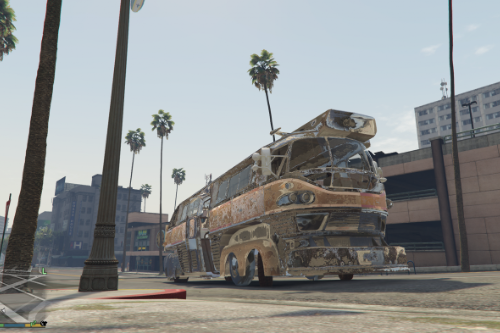 bus fallout 4 in GTA V [replace/Unlocked]