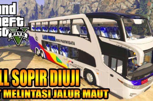 Bus PO Laju Prima (Marcopolo Paradiso G7 1800 DD)