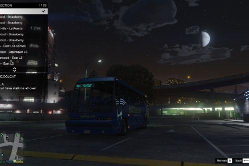 Around The Map Route [Bus simulator v]