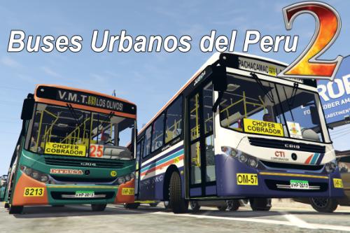 Buses urbanos del Peru 2