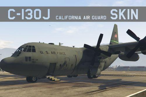C-130J CALIFORNIA AIR GUARD skin