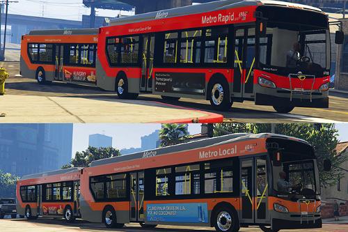 XD40 LA Metro Bus Skin 1.0