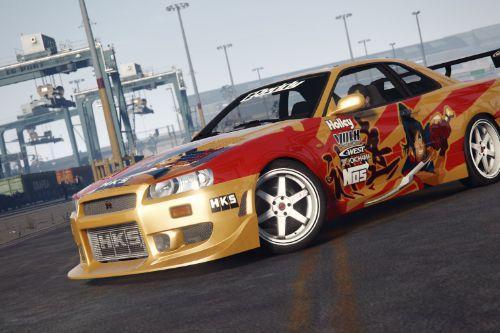 [C-West N1] 1999 Nissan Skyline GT-R (R34)