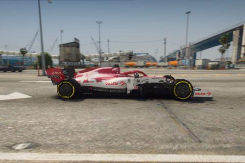 C39 Alfa Romeo Formula One F1 2020 [Add-On]