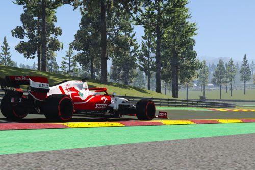 C41 Alfa romeo Formula One F1 2021 [Add-On | Liveries]