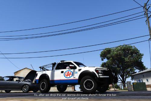 CAA F-150 Raptor Towtruck Livery