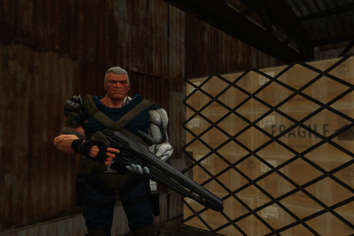 Cable (X-men)  [Add-On Ped]