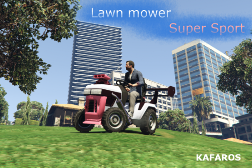 Lawn Mower-Super Sport