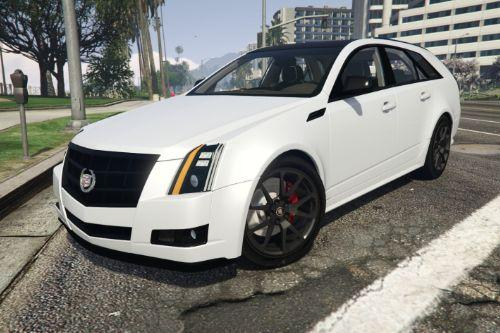 2010 Cadillac CTS Sport Wagon [Add-On | FiveM]