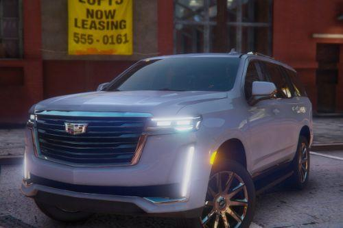 Cadillac Escalade 2021 Next Gen [Add-On / Replace]