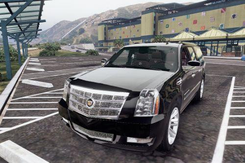 2012 Cadillac Escalade ESV GMT900 [Add-On / Replace | Animated]