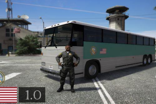 California Department Of Corrections And Rehabilitation Bus [CDCR]