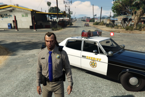 California Highway Patrol Uniform for Trevor