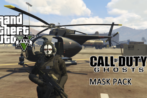 Call of Duty: Ghosts Mask Pack (MP Freemode Male)