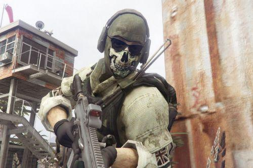 """Call of Duty: Modern Warfare Simon """"Ghost"""" Riley [Add-On]"""