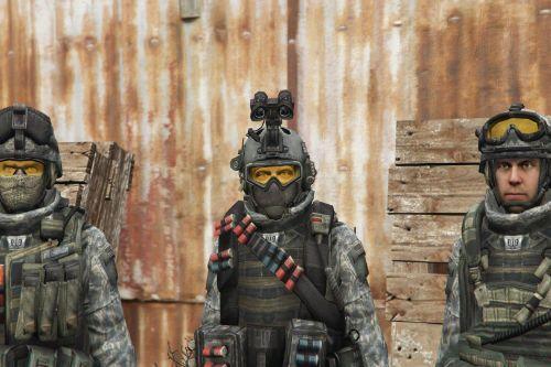 Call of Duty: Modern Warfare US Army Rangers [Add-On]