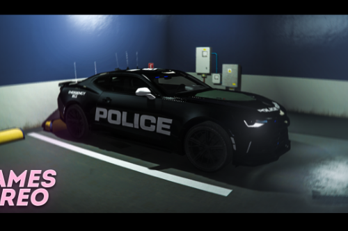 Camaro ZR1 Police Livery