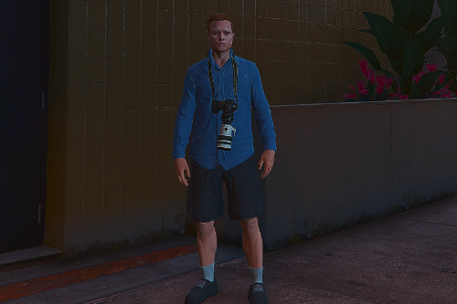 Camera on the neck (For mp_male)