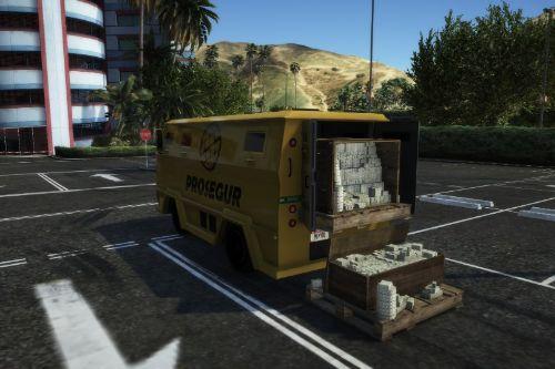 Camion de caudales  Prosegur