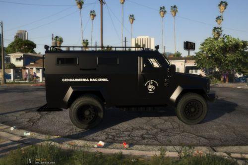 Armored Alacrán truck | Camioneta Blindada Alacrán (Argentina)
