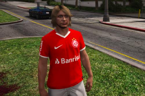Camisa Do Sport Club Internacional - [GtaSP/FiveM] [MpMale]