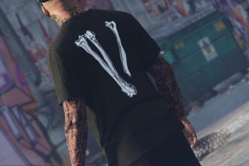 T-shirt VLONE Skull for Franklin