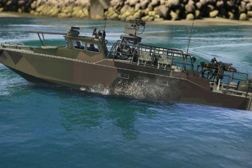 Camo Livery for the CB90 - fast assault craft by CANAL EMBRAER GTA