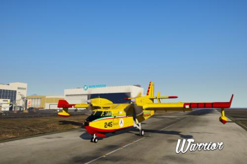 Canadair CL415 - Protezione Civile Nazionale (Paintjob)