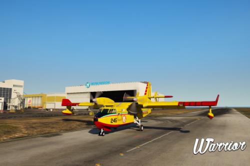 Canadair CL415 - Vigili del Fuoco 115 (Paintjob | Fivem)