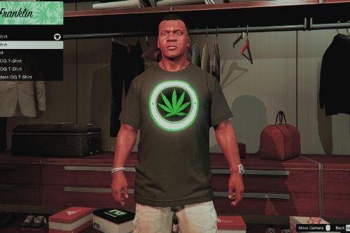 Cannabis T-Shirts for Franklin