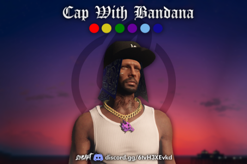 Cap With Bandana for MP Male