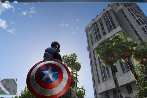 Marvel Captain America Shield 4k