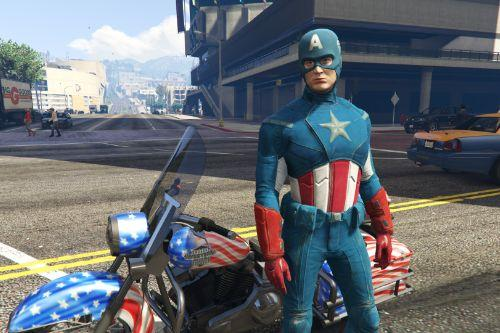 Captain America The Avengers [Add-On Ped]