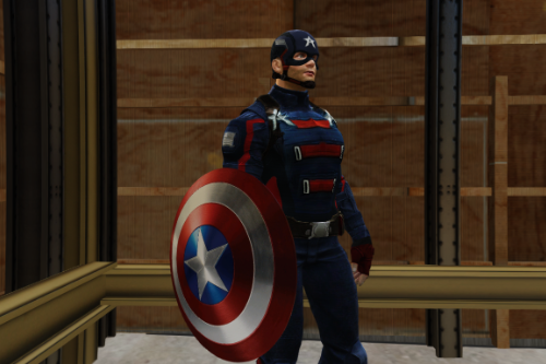 Captain America (John Walker)[Add-On Ped]