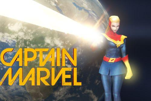 Captain Marvel (Carol Corps)  [Emissive Add-On]