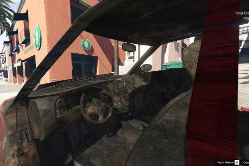 Car burn texture from Max Payne 3
