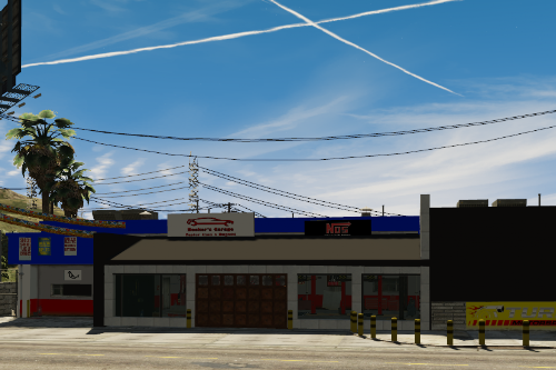 Car Mechanic shop in Lake of Los Santos [YMAP/XML]