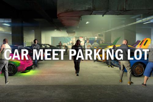 Car Meet Parking Lot Interior [MLO] [FiveM/SP]