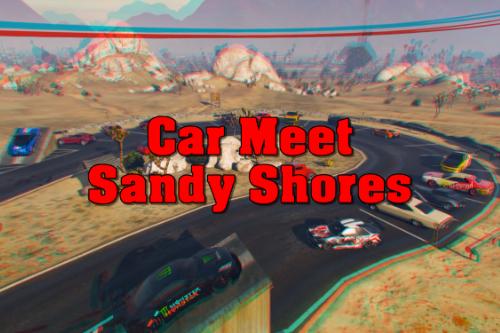 Car Meet Sandy Shores [YMAP | MENYOO | FIVEM | SP]