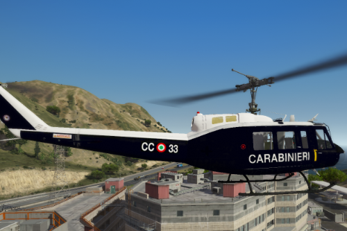 Carabinieri - Elicottero UH-1H Helicopter